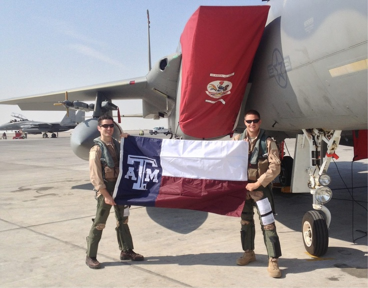 God Bless our troops and gig 'em, Ags!