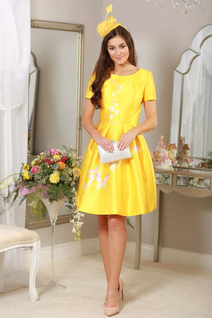 lemon dress, dresses for wedding guests, red isabel dresses, fashion for summer 2016