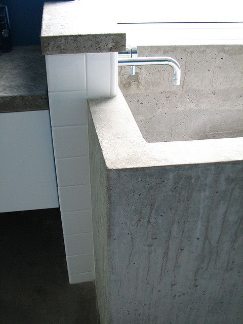 Diy In Situ Concrete Ofuro Japanese Soaking Tub New