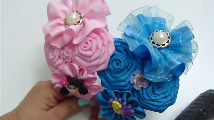 436 best accesorios images on pinterest crowns ties and - Flores para diademas ...