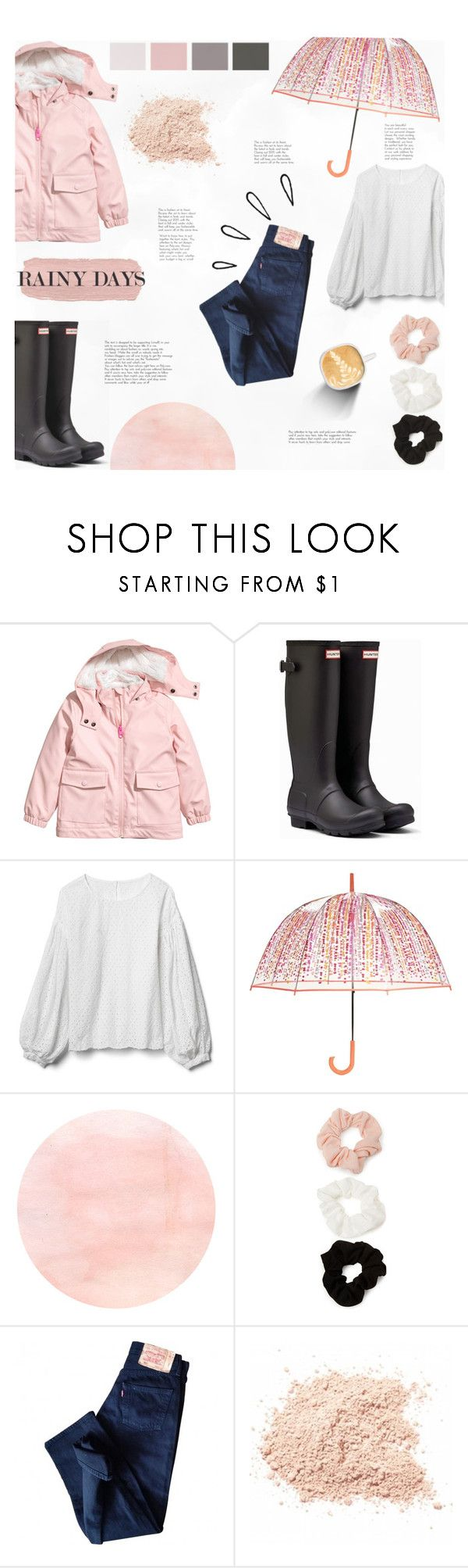 """Rainy Day Style"" by littledesigns ❤ liked on Polyvore featuring Hunter, Gap, Vera Bradley, Forever 21, Levi's, Old Navy and fashionset"