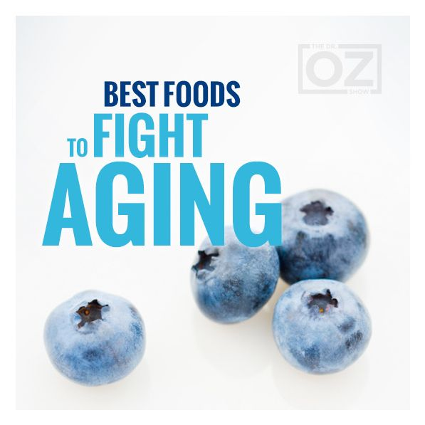 Consider these foods your anti-aging staples. As a rule, fruits and vegetables