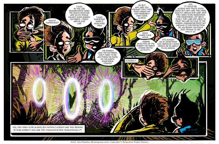 Sci-Fi Graphic Novel project (WIP) for young adults, produced and developed by Brainwave, a subsidiary of ACKMedia (Amar Chitra Katha) - Work in progress
