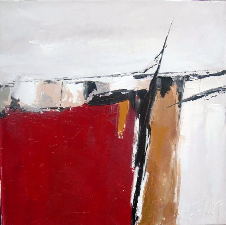 Vent De Sable 2: peinture huile au couteau sur toile de lin ... : Peintures par les-reves-de-minsy