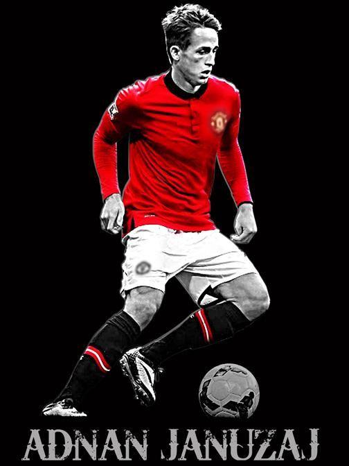Adnan Januzaj  Manchester United Player  by TotallyUnitedFanShop, £10.00