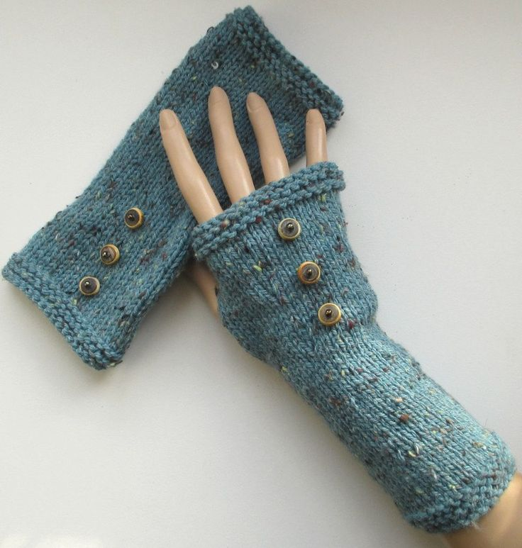 Manchettes tricot de la boutique Sylviecambet sur Etsy