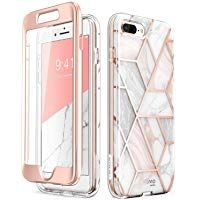 iPhone 8 Plus CaseiPhone 7 Plus Case [Built-in Screen Protector] i-Blason [Cosmo] Glitter Clear  4.3 out of 5 stars 153  $21.99