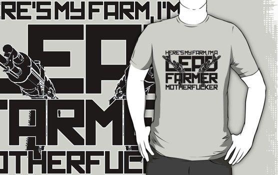 "tropic thunder quotes shirt | Lead Farmer"" T-Shirts & Hoodies by TGIGreeny | Redbubble"