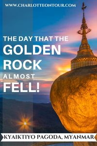 Golden Rock, one of the holiest places of Myanmar (Burma). See how to go to the Golden Rock and how much it costs!