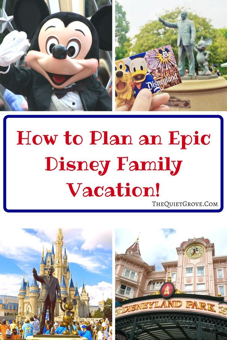 How to plan an epic disney family vacation