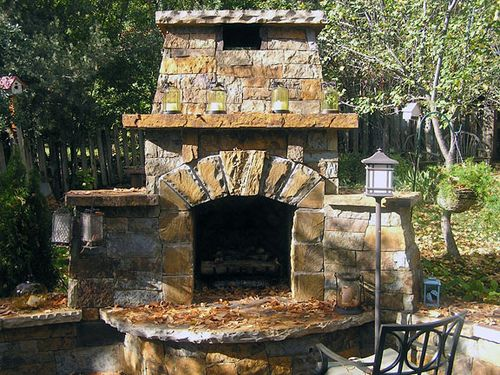 Craftsman Style Exterior Stone Fireplace Looks As If It Has Been There  Since The Olson Stone Can Craft Your Stone To Emulate Your Homeu0027s Era,  Boulder, ...