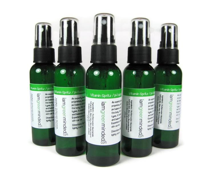pH balancing B3 vitamin spritz  Prefoundation by EllaRoseMinerals, $12.99