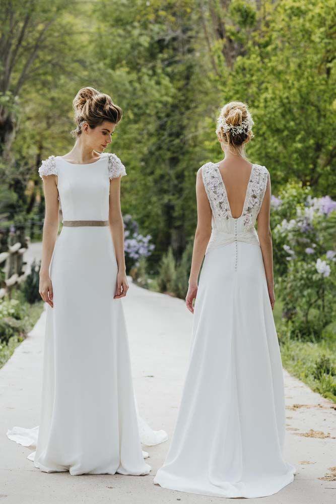 0a49211b9e Colección 2019 de vestidos de novia de Oh que luna!.  noviasselect  novias