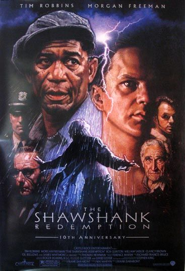 SHAWSHANK REDEMPTION Movie Poster (R-2004)    DRAMA Movie Posters @ FilmPosters.Com - Vintage Movie Posters and More