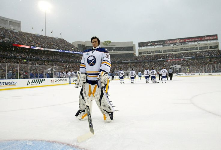 The first NHL Winter Classic was held in Buffalo, Jan. 1, 2008