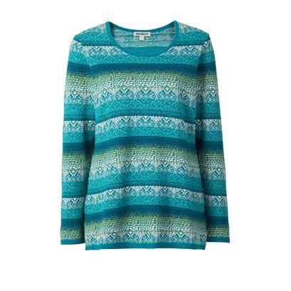 Baumwoll-Pullover online bestellen | DW Shop 233684