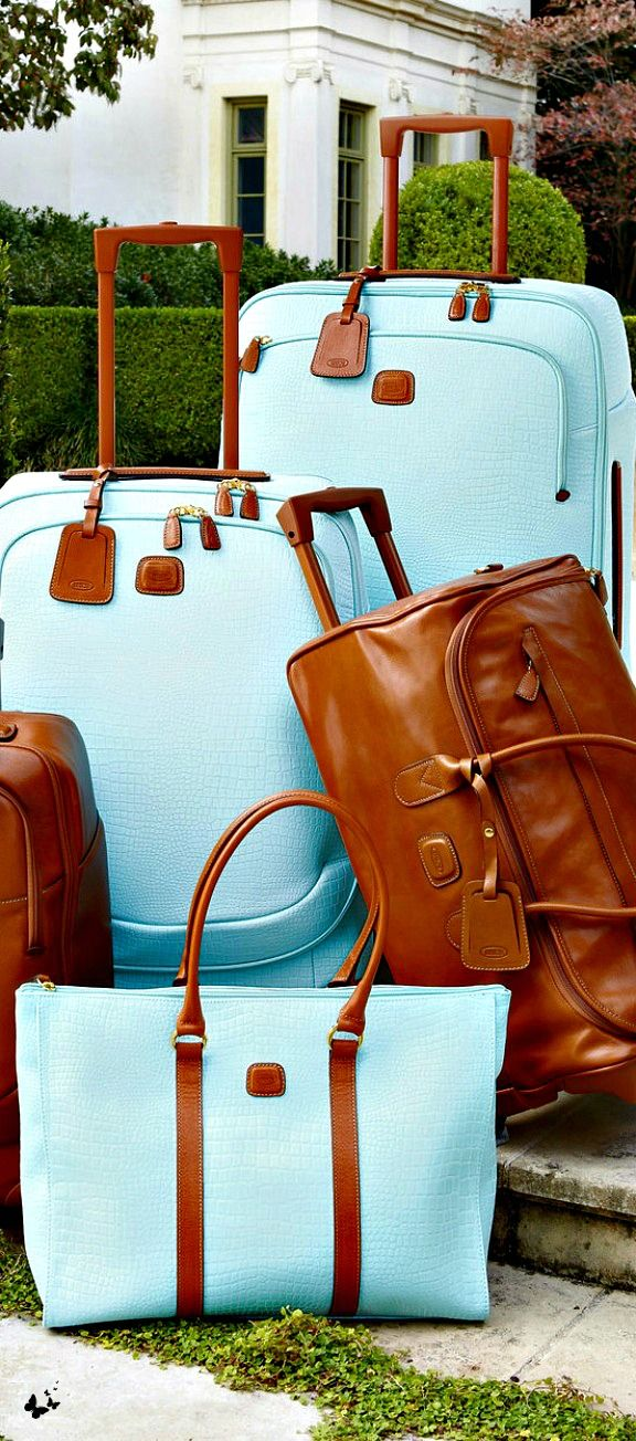 "Bric's ""Esmeralda"" Luggage Collection..... ready for the Med holiday"