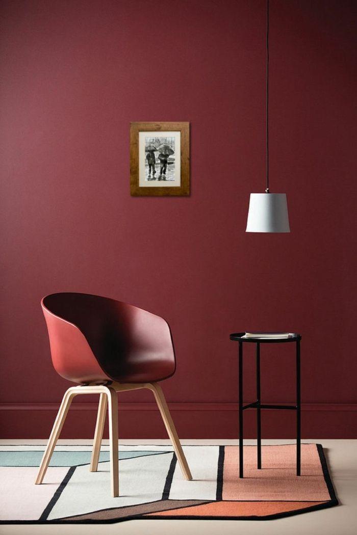 1001 Ideen Zum Thema Welche Farbe Passt Zu Rot Rote Stuhle Roten Wande Wohnzimmer Bunt