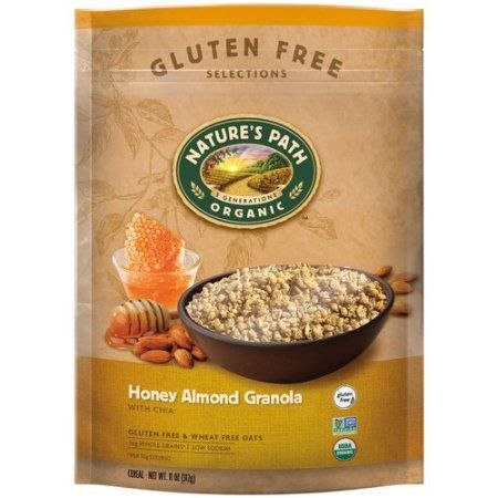 Nature's Path Organic Granola, Gluten Free, Honey Almond with Chia