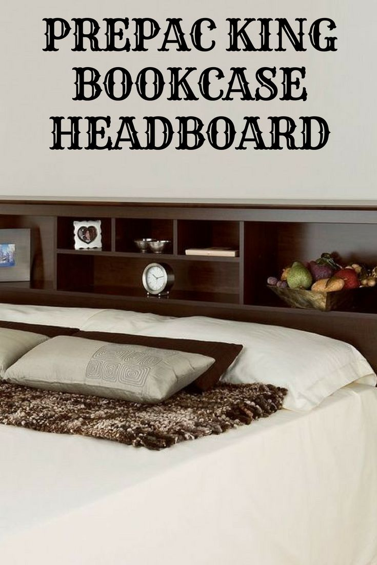 Complete Your Bedroom With This Prepac Bookcase Style Headboard.  (Sponsored) Bedroom Ideas, Bedroom Ideas Master, Bedroom Ideas For Women, Bedroom  Ideas ...