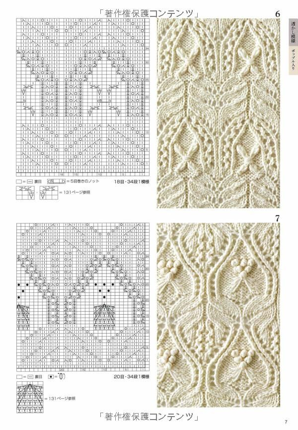 Pattern knitting collection 260 by Shida Hitomi