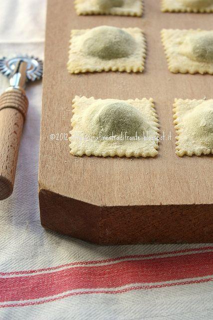 Ravioli ricotta e spinaci #TuscanyAgriturismoGiratola