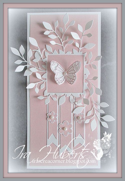 Poppystamps Butterfly card April 2014