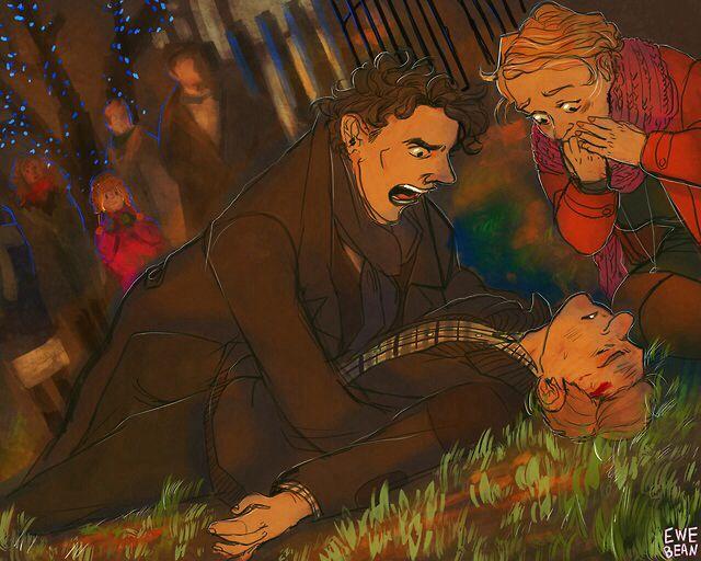 Sherlock BBC - Sherlock Holmes x John Watson + Mary Morstan