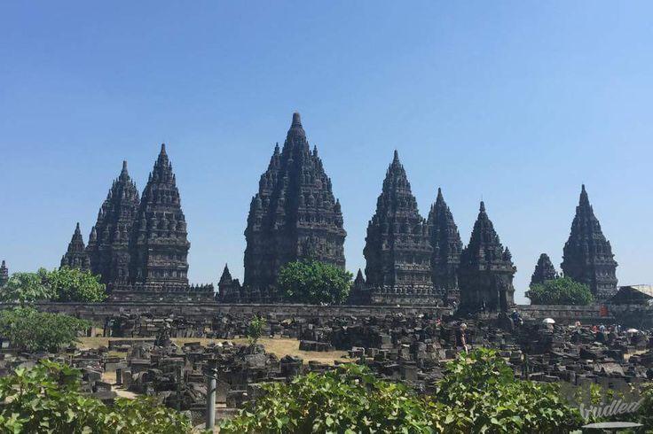 Prambanan - Massen von Touristen, aber dennoch ein Muss, wenn man in der Gegend ist