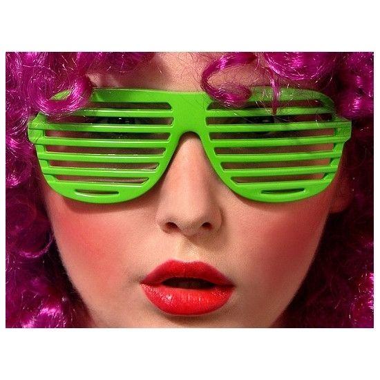 Okulary żaluzje fajny dodatek na imprezę :).