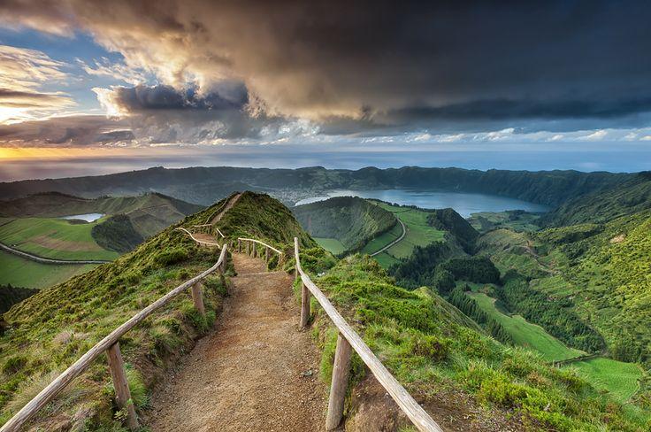 Azores Islands, São Miguel, Brazil in Canário Lagone Park