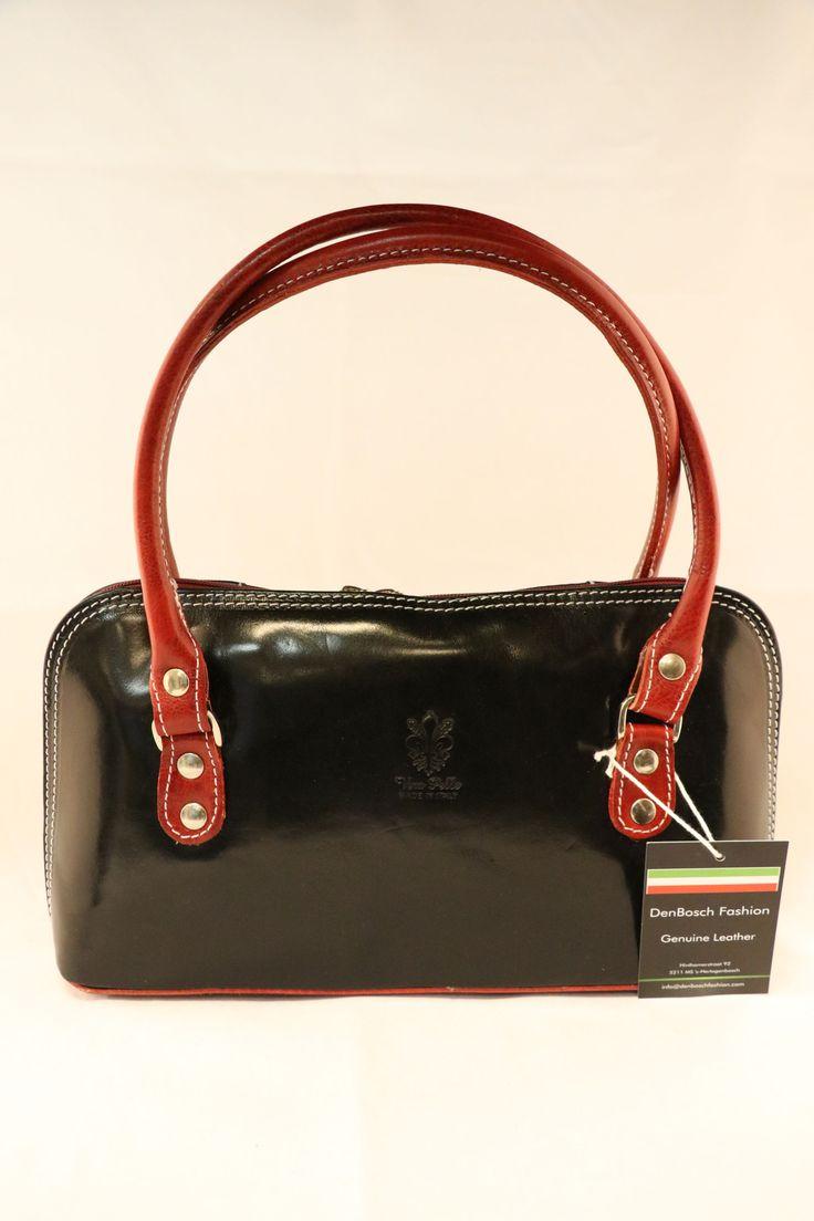 damestas, zwart - bruin kleur. | DenBosch Fashion