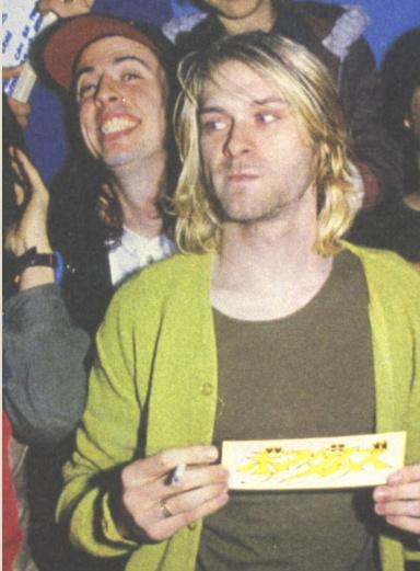 Kurt Cobain, Nirvana: