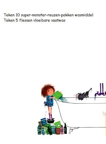 Werkblad Floddertje - Schuim