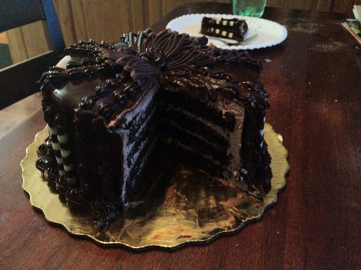 Chocolate Ganache Cake from Publix | Delicious Food ...