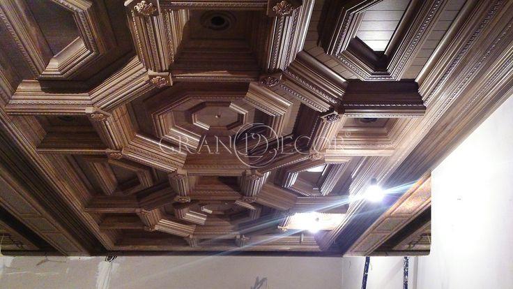 Деревянный потолок Каналетто | grandecor.ru