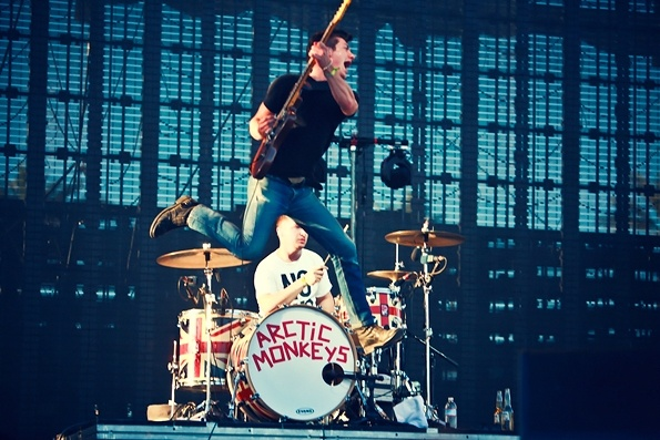 Faith Ann Young's photo of the Arctic Monkeys during Coachella makes the Rolling Stones' Hottest Live Photos of 2012