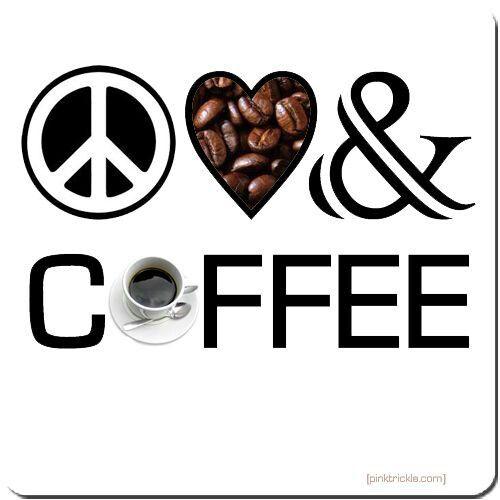 Good morning sweethearts! - saturday morning coffee