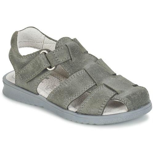 Citrouille et Compagnie MELTOUNE Gris foncé - Chaussure pas cher avec Shoes.fr ! - Chaussures Sandale Enfant 36,00 €