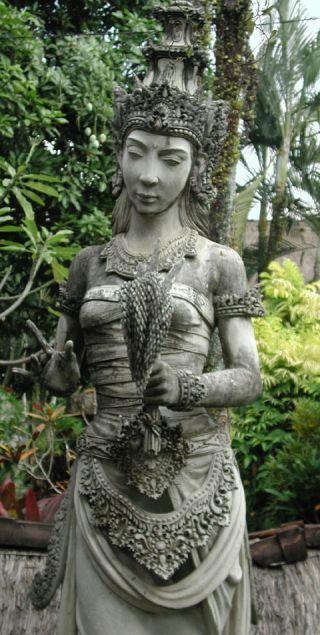 Statue of Dewi Sri image