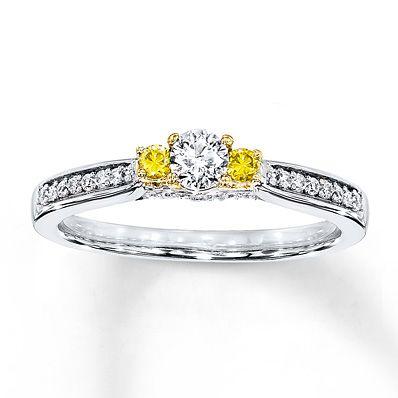 Kay Jewelers Mens Diamond Bracelet 1-1/2 ct tw Round-cut 10K Two-Tone Gold Jpmf2Vhx8W