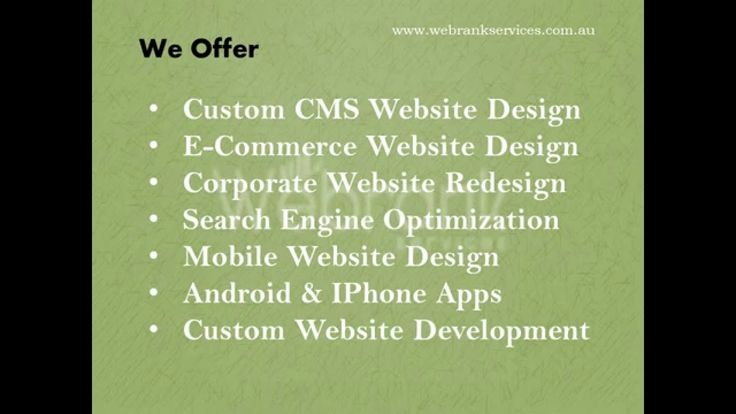 Affordable  Web Design & Cost effective SEO services company in Adelaide...