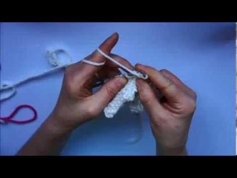 ▶ Škola pletení: Jak plést obrace - YouTube