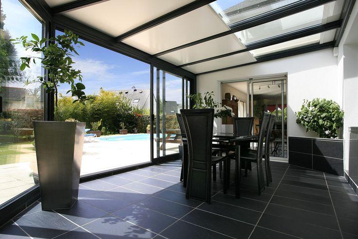 #veranda #conceptalu gamme #ARMONIA - #soleil #lumisol #jardin