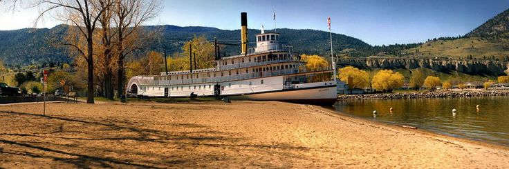 SS Sicamous in Penticton, BC Photo by Manda Maggs