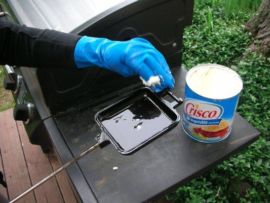 Seasoning A Pie Iron - How To Season Cast Iron