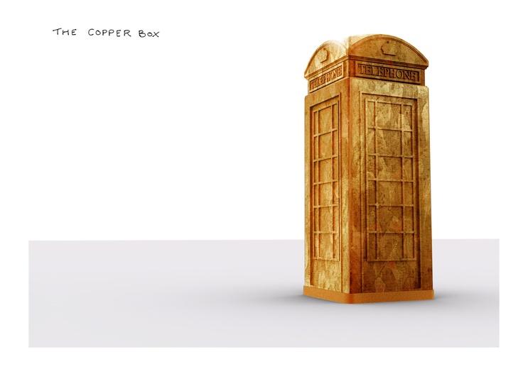 Cu Box by Ian Ritchie