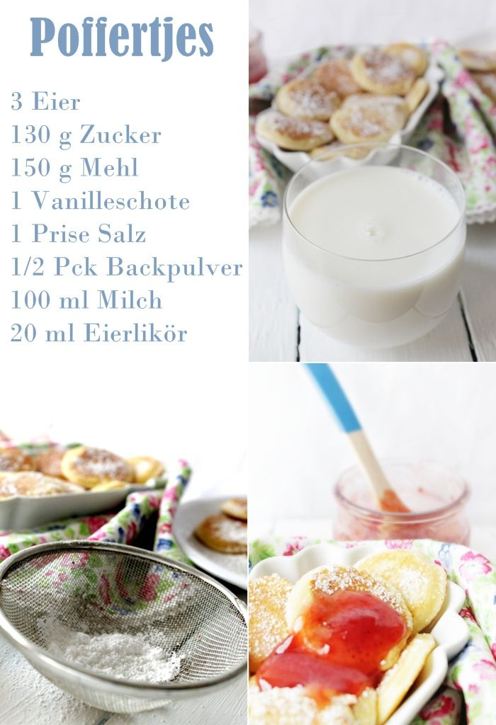 : Poffertjes (holländische Pfannkuchen)   Ohne eierlikör besser;)