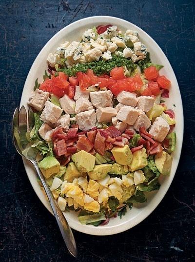 Cobb Salad Recipe Recipe Recipe - Saveur.com recipesDinner Parties Menu, Brown Derby, Cobb Salad, Salad Recipe, Dresses Recipe, Los Angels, Recipe Recipe, Drinks Recipe, Classic Salad