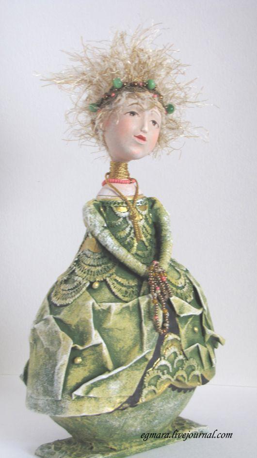 Куклы-шкатулки Елены Мартюшовой